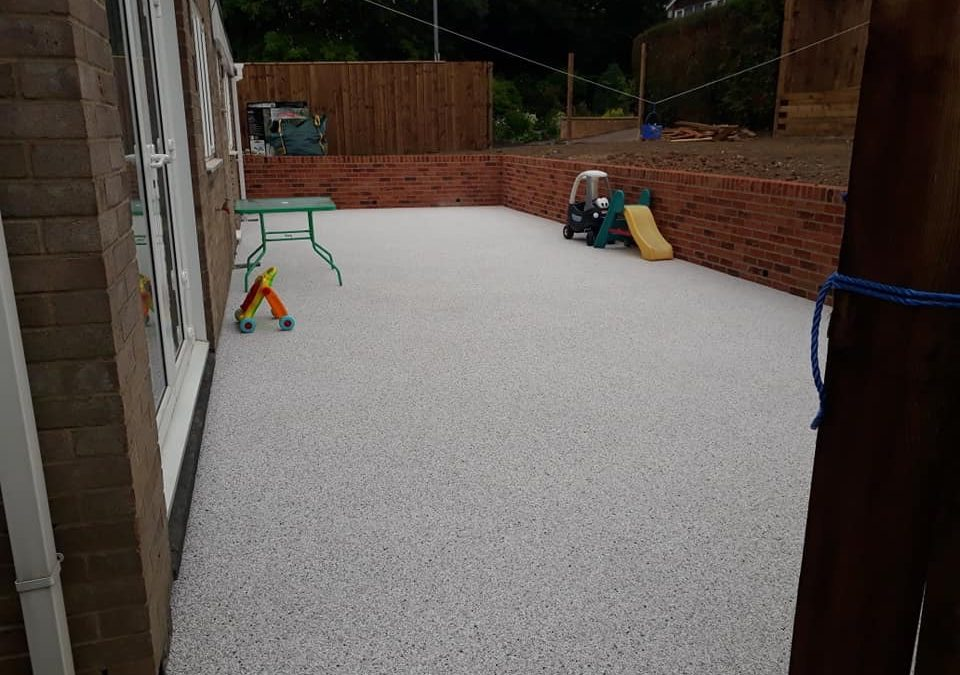 Pebblemagic Resin Patio Area Hartlepool