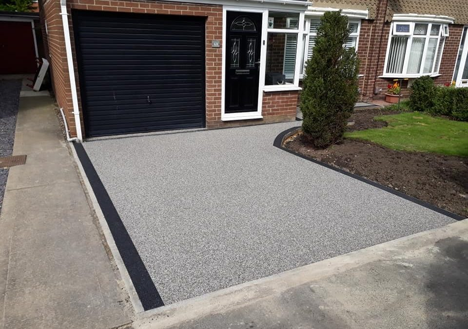 Resin Driveway, South Shields – August 2018