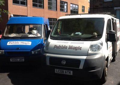 Pebblemagic-vans