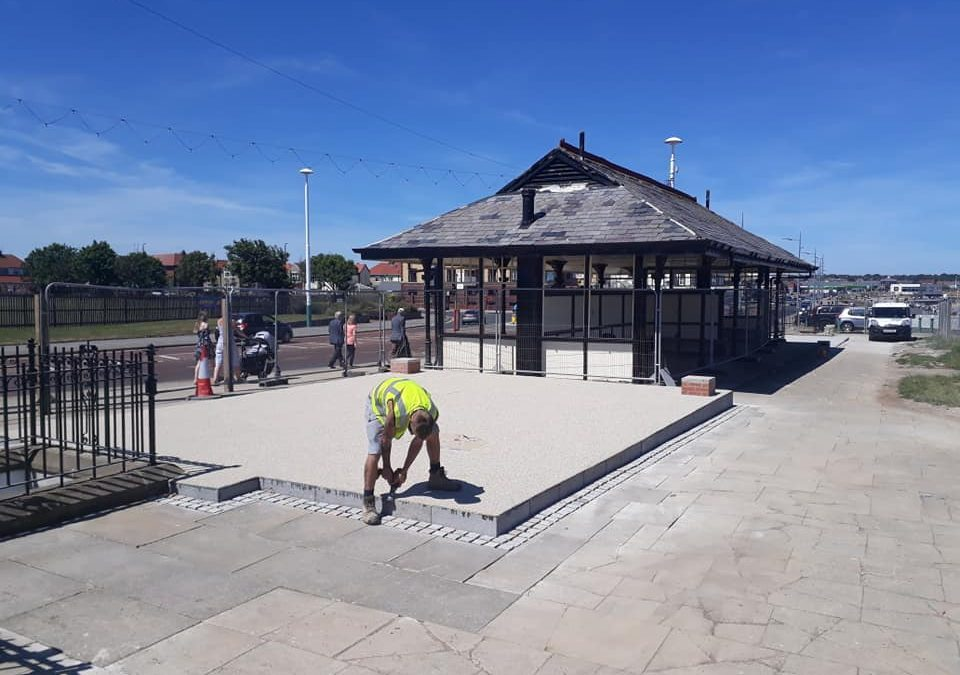 Seaburn Shelter Refurbishment July 2018