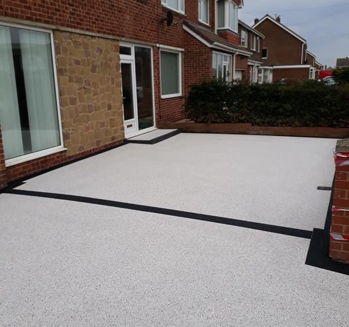 Resin Driveway, South Bents, February 2019